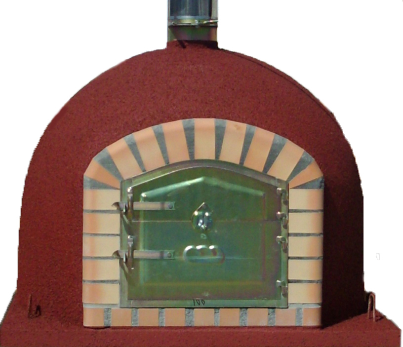 Deluxe Insulated Wood Fired Pizza Oven