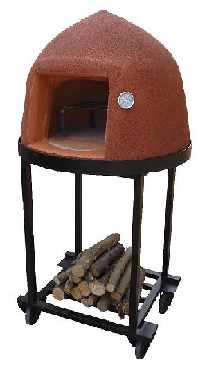 """Beehive"" Insulated Outdoor Pizza Oven with Thermometer and Stand"